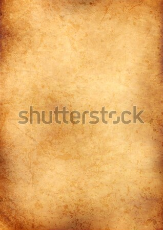 old grunge parchment Stock photo © alekup