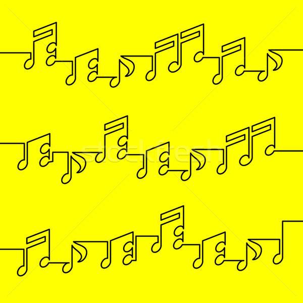 musical notation Stock photo © alekup
