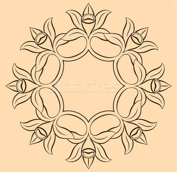 Vanille bloem voedsel zon ontwerp vruchten Stockfoto © alekup