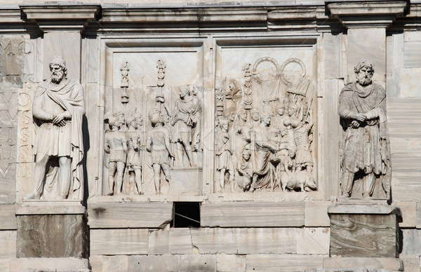 Arch of Constantine in Rome Stock photo © alessandro0770