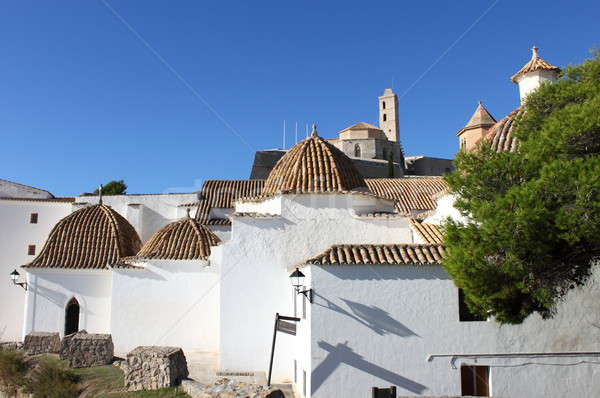 Church of Santo Domingo in Ibiza Stock photo © alessandro0770