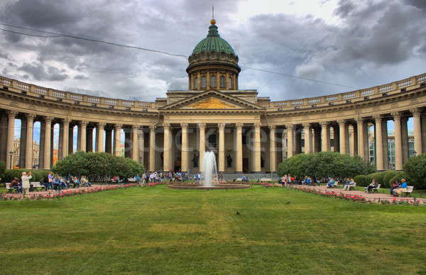 Kazan cathedral in Saint Petersburg Stock photo © alessandro0770