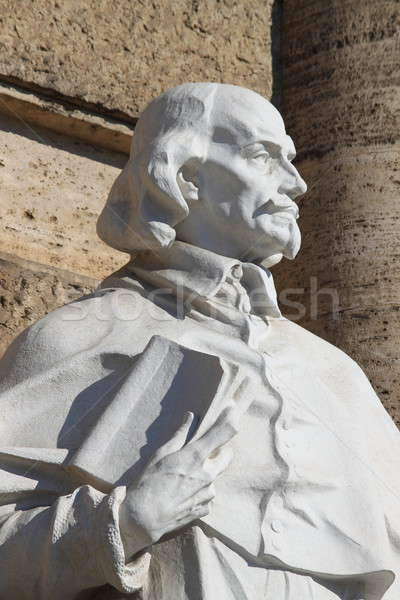 Intellectuelle statue palais justice Rome Italie Photo stock © alessandro0770
