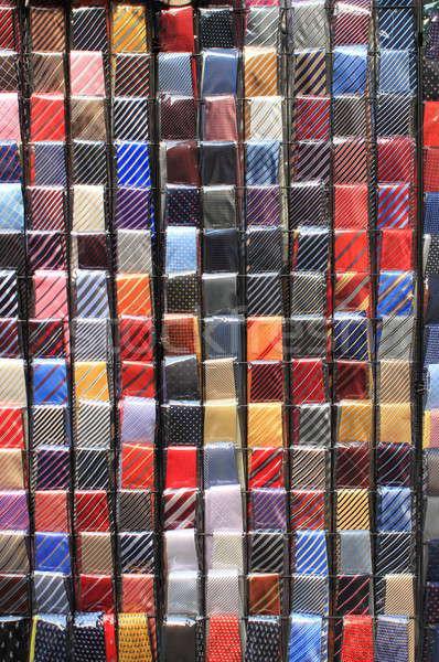 красочный моде магазин человека фон бизнесмен Сток-фото © alessandro0770