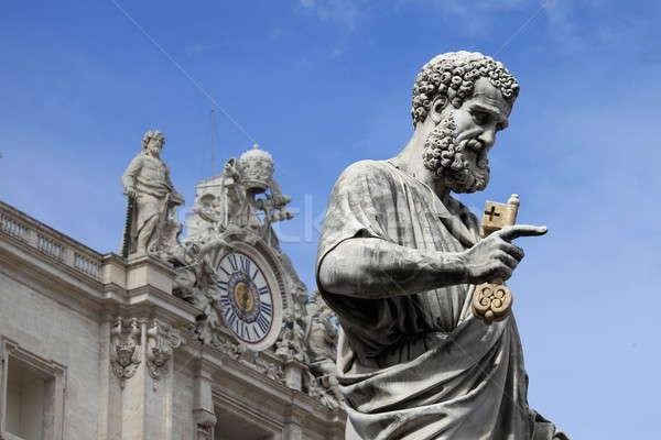 Statue of Saint Peter the Apostle Stock photo © alessandro0770