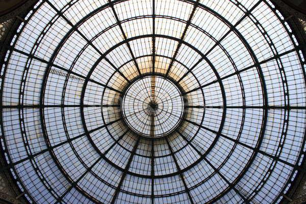 Milano galleria cupola Italia moda shopping Foto d'archivio © alessandro0770