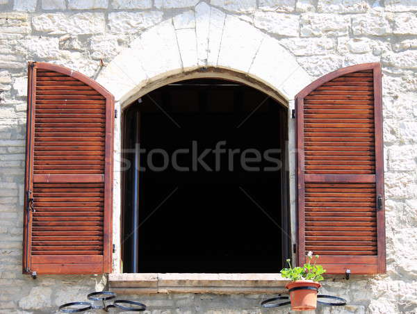 Arched window Stock photo © alessandro0770