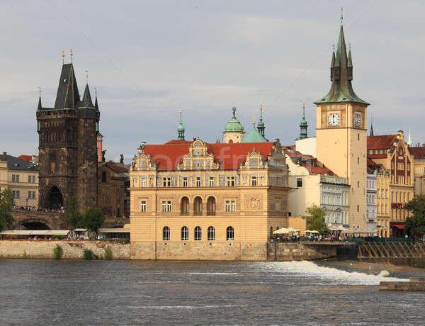 Prague scenic view Stock photo © alessandro0770