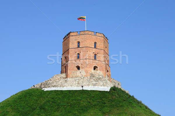 Tower of Gediminas Stock photo © alessandro0770