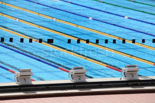Olympic swimming pool Stock photo © alessandro0770