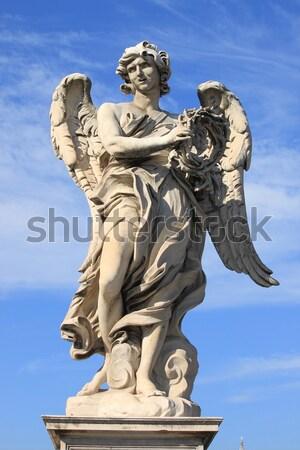 像 聖なる 橋 フィレンツェ イタリア 顔 ストックフォト © alessandro0770