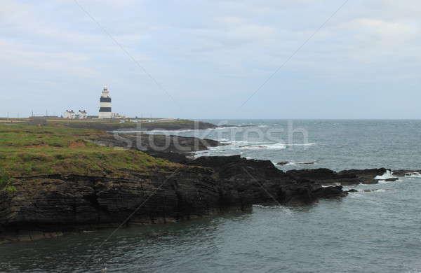 Kanca deniz feneri kafa su manzara ışık Stok fotoğraf © alessandro0770