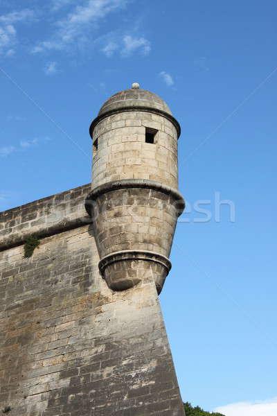 Es Baluard Fortress in Palma de Mallorca Stock photo © alessandro0770