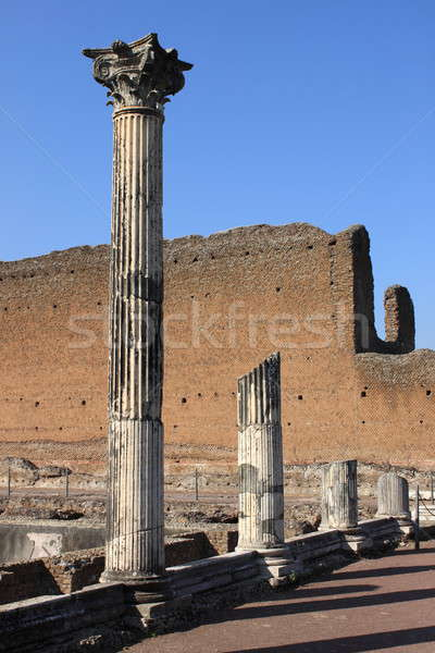 Corinthian columns Stock photo © alessandro0770