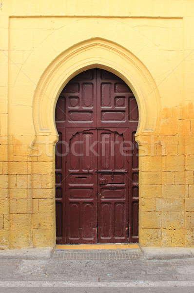 Arabic door Stock photo © alessandro0770
