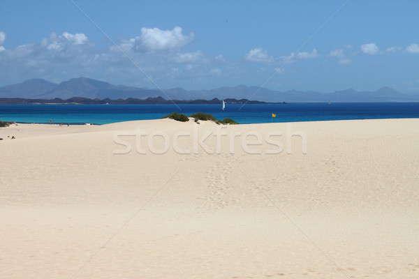 Plaj İspanya deniz yaz okyanus Stok fotoğraf © alessandro0770