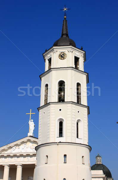 Bell Tower of the Cathedral of Vilnius Stock photo © alessandro0770