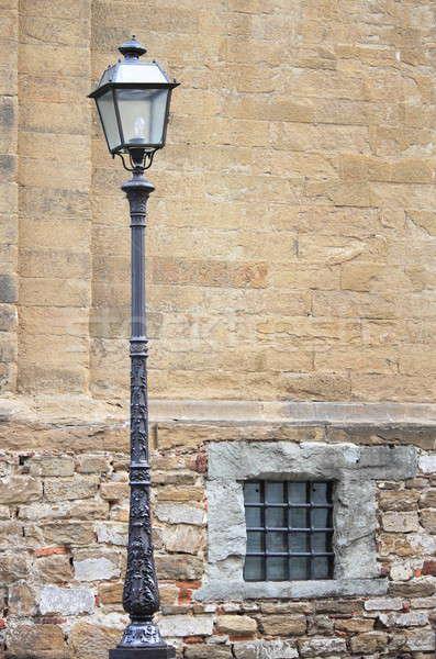 Eski ortaçağ duvar ev sanat Stok fotoğraf © alessandro0770