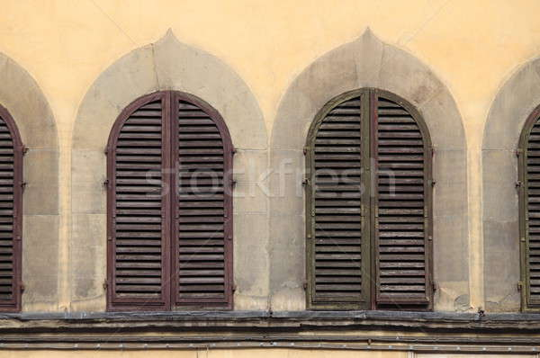 Arched windows Stock photo © alessandro0770
