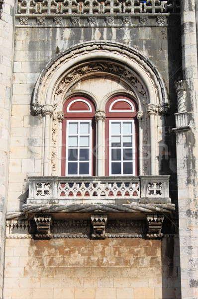 Ventana monasterio Lisboa Portugal mundo iglesia Foto stock © alessandro0770