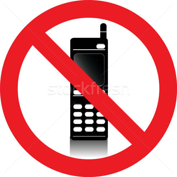 No mobile phones sign Stock photo © alessandro0770