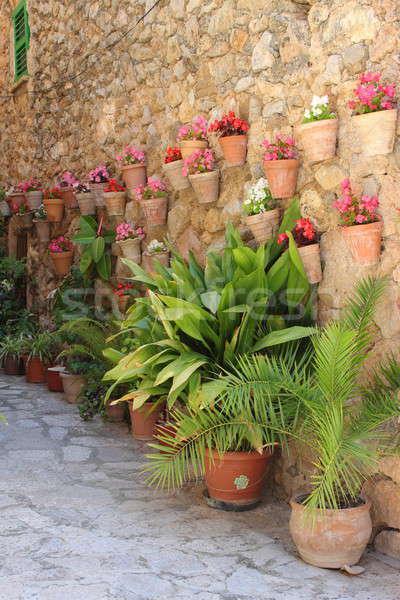 Mediterranean village of Valldemossa Stock photo © alessandro0770