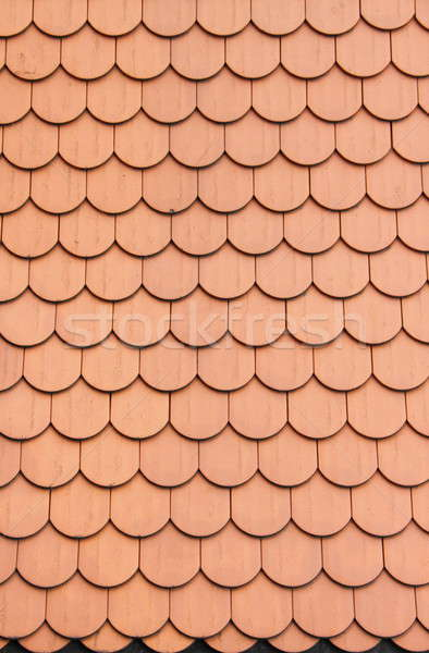 Red roof clay tiles Stock photo © alessandro0770