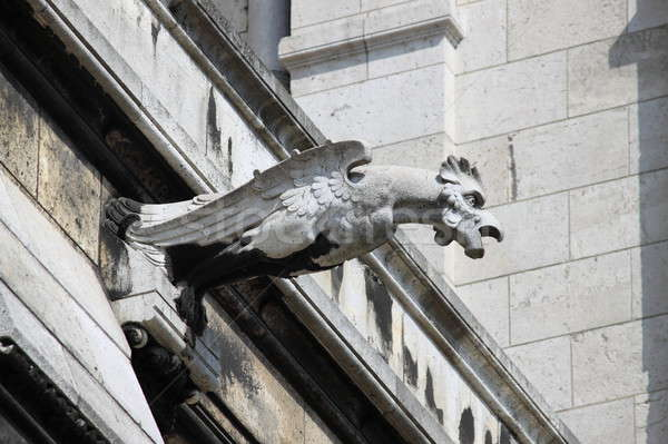 Gargoyle in the Basilica of the Sacre Coeur Stock photo © alessandro0770