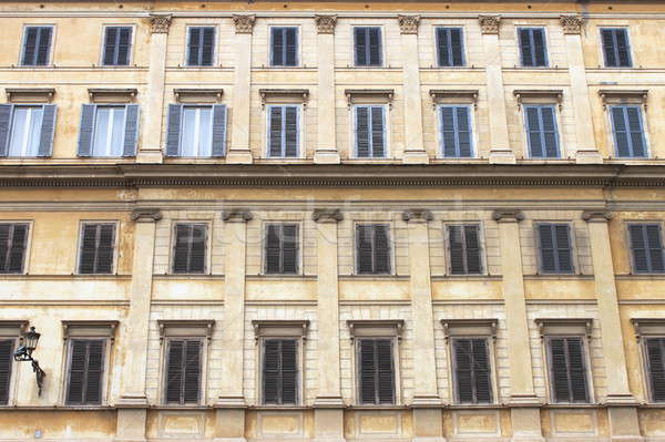 Ancient building in Rome Stock photo © alessandro0770