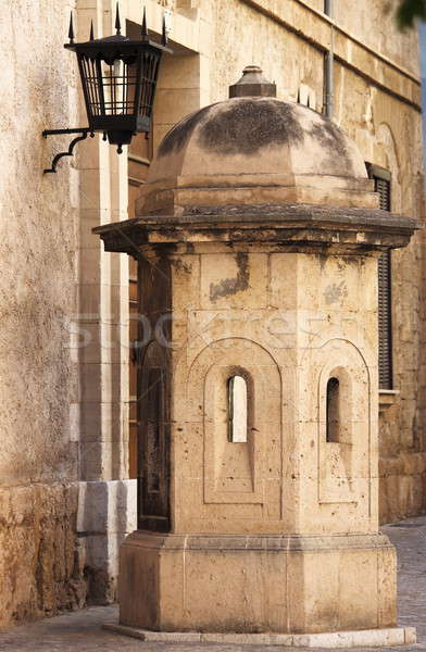 Sentry box in Palma de Mallorca Stock photo © alessandro0770