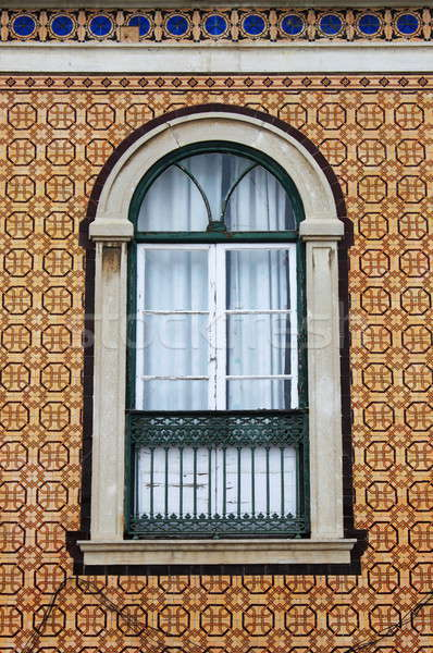 Typical portuguese window Stock photo © alessandro0770