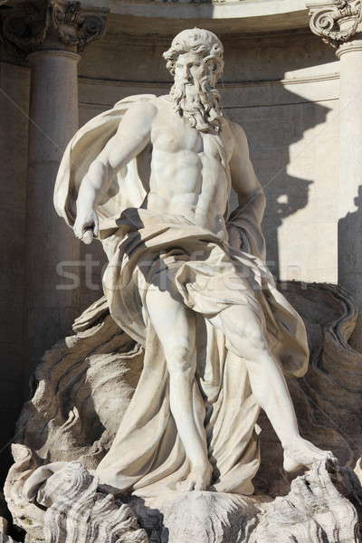 Oceanus in the Trevi Fountain Stock photo © alessandro0770