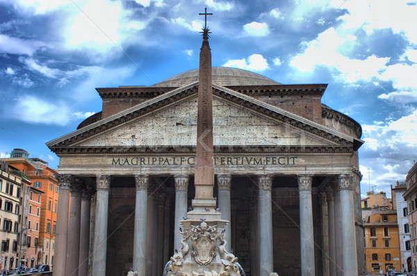 Pantheon in Rome Stock photo © alessandro0770