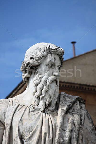 Statue of Saint Paul the Apostle Stock photo © alessandro0770