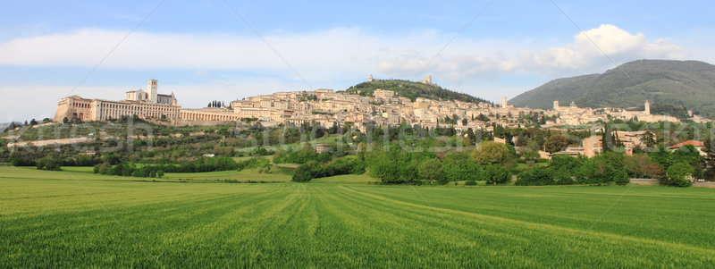 Panorama of Assisi Stock photo © alessandro0770