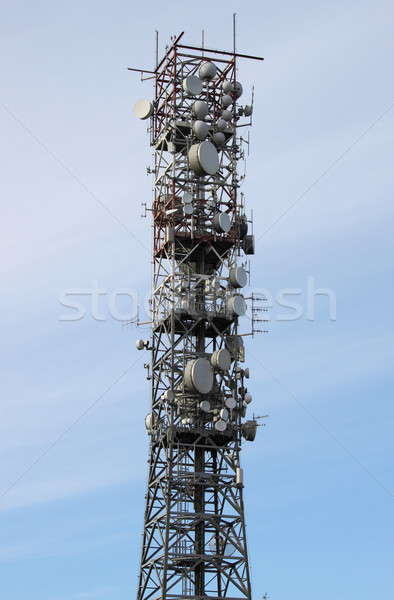 Telecommunication tower Stock photo © alessandro0770