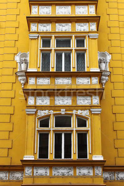 Renaissance windows in Prague Stock photo © alessandro0770