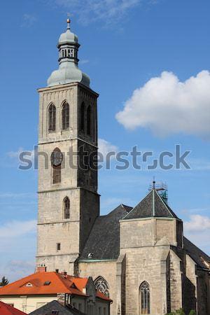 Church of Saint James, Kutna Hora Stock photo © alessandro0770