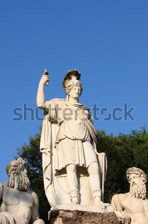 像 ローマ イタリア 青 旅行 石 ストックフォト © alessandro0770