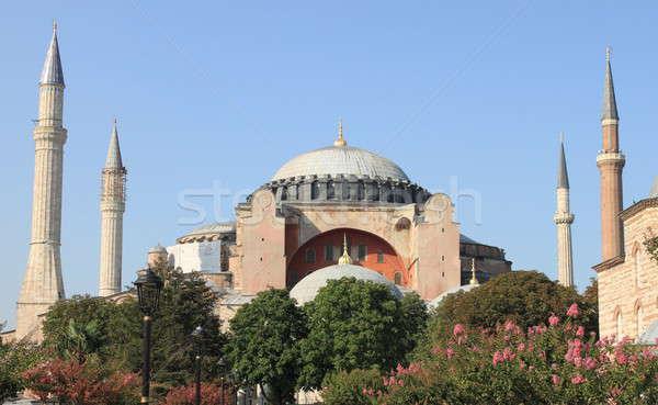 Stock fotó: Mecset · Isztambul · Törökország · épület · építészet · vakáció