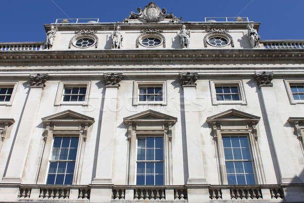 Fachada edifício Londres cidade janela arte Foto stock © alessandro0770