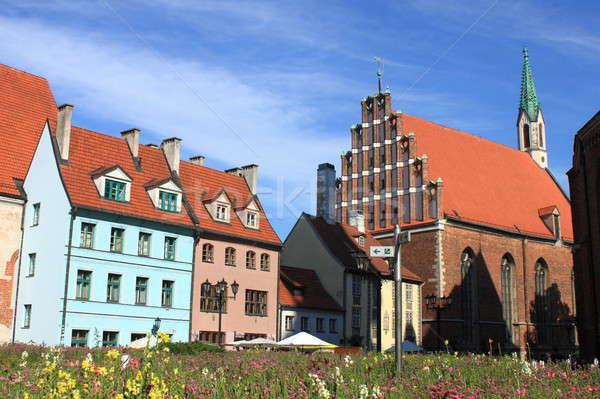 Saint John Lutheran Church in Riga Stock photo © alessandro0770