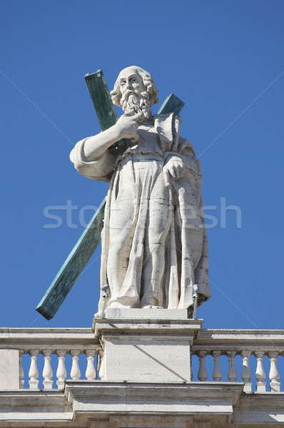 Statue of an apostle in Vatican Stock photo © alessandro0770