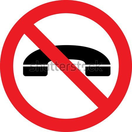No phones sign Stock photo © alessandro0770