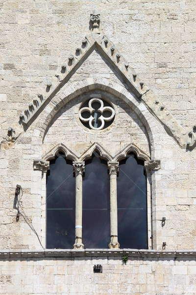 Medieval window in Todi Stock photo © alessandro0770