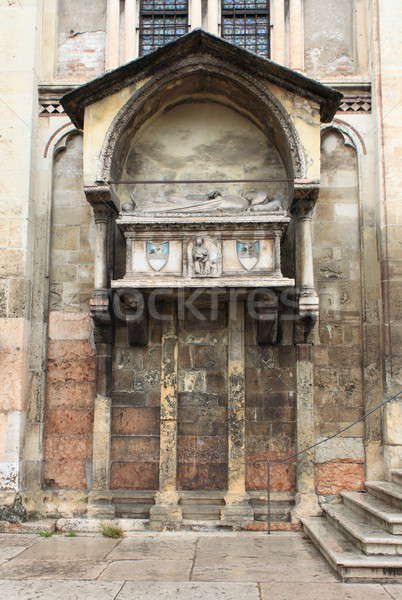 Ołtarz święty kościoła verona sztuki architektury Zdjęcia stock © alessandro0770