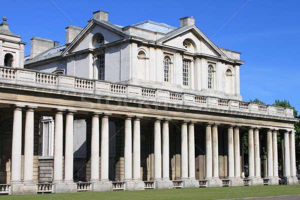 Koninklijk college oude Londen hemel stad Stockfoto © alessandro0770