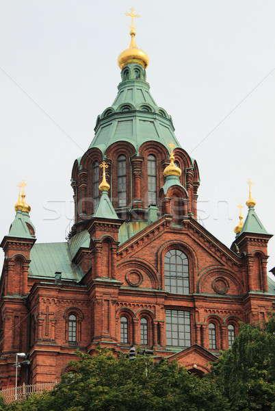 Ortodoxo catedral Helsinki Finlandia edificio verano Foto stock © alessandro0770