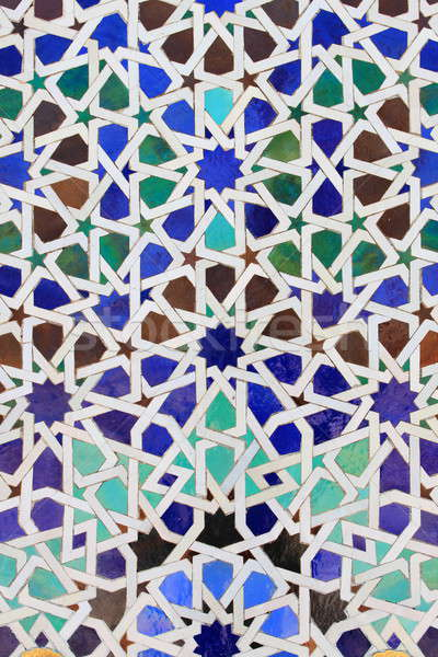 Moroccan mosaic Stock photo © alessandro0770