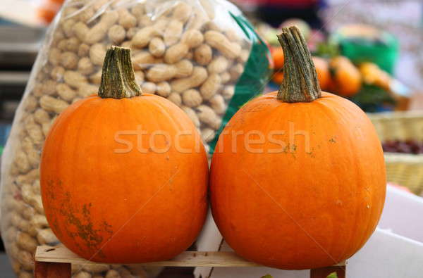 Pumpkins for sale Stock photo © alessandro0770